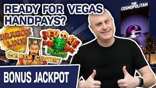 ★ Slots ★ $50 Slot Spins at The Cosmopolitan Las Vegas! ★ Slots ★ Ready to See Some HANDPAYS?
