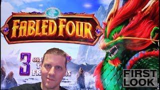 • Fabled Four • Slot Machine By Everi • The  Shamus Of Slots • SOS •