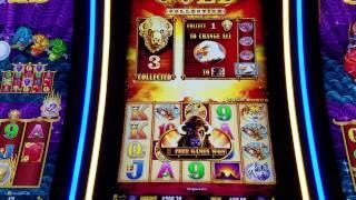 Buffalo Gold Slot Machine Bonus $6 Max Bet  HUGE WIN