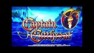 Aristocrat - Captain Cutthroat : Big Bonus Win on a  $1.20 bet