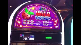 """Crazy Cherry Wild Frenzy""  Collection - VGT Slots Choctaw Casino, Durant, OK JB Elah Slot Channel"