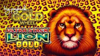 Ultra Stack Lion Gold Slot - FIRST SPIN BONUS!