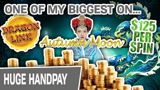 ⋆ Slots ⋆ One of My BIGGEST JACKPOTS EVER on AUTUMN MOON ⋆ Slots ⋆ SEVEN Handpays, Actually @ $125/Spin
