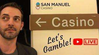 •️LIVE at San Manuel CASINO • with Brian Christopher Slots