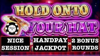 •LOCK IT LINK HOLD ONTO YOUR HAT HANDPAY •SLOT MACHINE MOHEGAN SUN