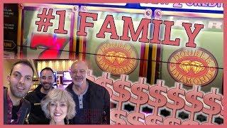 •My Family is #1 in SLOTS!• • Slot Machine Pokies w Brian Christopher