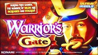Warrior's Gate slot machine, Live Play & bonus