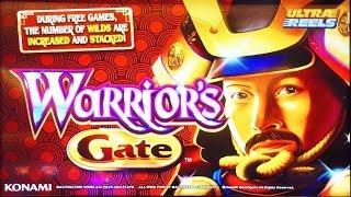 Warrior's Gate slot machine, Live Play & bonus