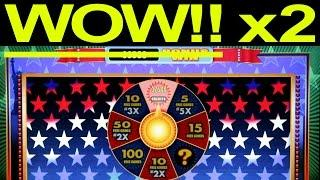 LAND OF LIBERITY **HUGE!! BACK TO BACK WINS!!** [HOME SLOT]  - American Original Clone