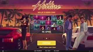Hotline Slot - NetEnt Promo