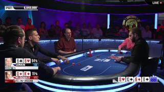EPT Barcelona: Super High Roller Final Table Highlights - PokerStars.com