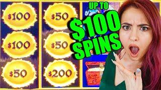 $100 SPINS on DRAGON LINK in the HIGH LIMIT ROOM at the HARD ROCK TAMPA!