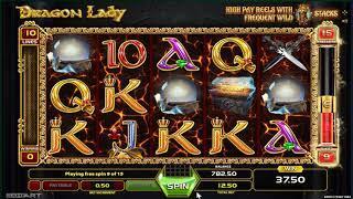 Dragon Lady slot  - 123 win!