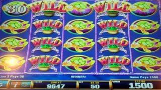 Cash'm If You Can Slot Machine Bonus with Full Screen Line Hit - 8 Free Games Win