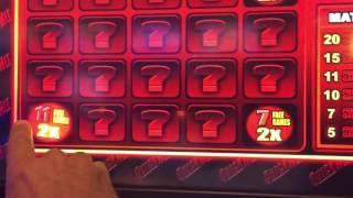 •High Limit Quick Hit Bonus Games• Live Play/Slot Play•