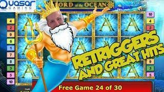 Online Slot - Lord of Ocean Big Win and LIVE CASINO GAMES (Casino Slots)