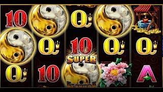 5 Frogs! Super Feature Bonuses! HUGE WIN! MAX BET!