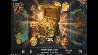 Lost Relics Slot (20€Bet) - Max Free spins & Extra Wilds!