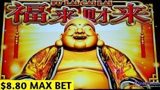 Triple Festival Slot Machine $8.80 Max Bet Bonus Won | Dragon Link Happy & Prosperous GREAT SESSION