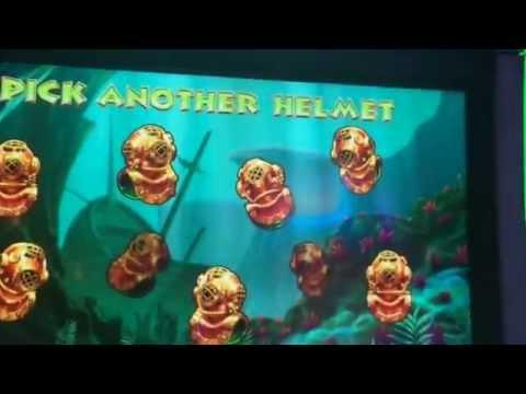 Gold Fish 3 ** 5 Cents Machine ** $8 Bet ** Green Fish Bonus ** SLOT LOVER **