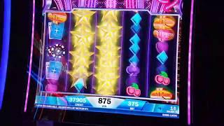 LIVE SLOT MACHINE PLAY AT THE CASINO - STAR RISE 4 CHARLES (PAYLINES) BIG WIN MINI JACKPOT