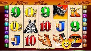 MR CASHMAN AFRICAN DUSK Video Slot Casino Game with CASHMAN ADDS CREDITS BONUS