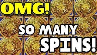 160 FREE GAMES! Mayan Chief Great Stacks BIG WIN BONUS!  Konami Slots / Pokies