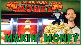 •  Makin' Monopoly Sized Money • • Slot Fruit Machine Pokies w Brian Christopher