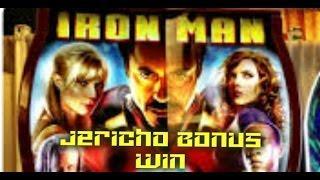 Iron Man Slot Machine Jericho Bonus Win NYNY Las Vegas