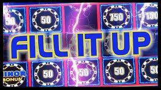 •My Biggest Progressive on LL • FILL IT UP!! • Slot Machine Pokies w Brian Christopher