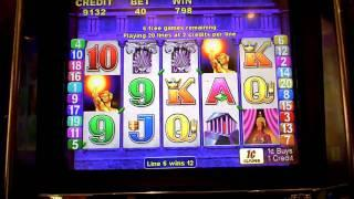 Torch of the Gods Slot Bonus Win at Parx Casino