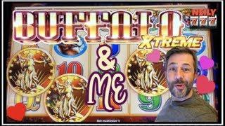 BUFFALO EXTREME & ME: A LOVE STORY • NOT REALLY I JUST KEEP GETTING WINS • 20 SLOTS @ MAX BET!