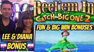 BIG WINS-BONUSES AND FUN WITH LEE AT THE CASINO
