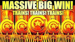 ⋆ Slots ⋆MASSIVE BIG WIN!⋆ Slots ⋆ ⋆ Slots ⋆ NEW CASH EXPRESS LUXURY LINE Slot Machine (Aristocrat Gaming)