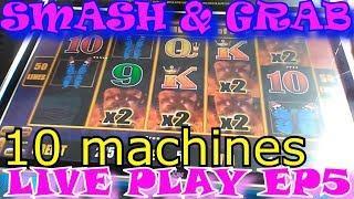 SMASH & GRAB finally it happened Episode 5 Lightning Links machines