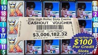 •3 Million Dollar Slot Machine Cashout• Jackpot Handpay Vegas High Limit Vegas Casino Video Slots •