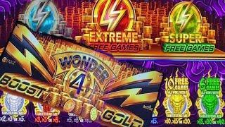⋆ Slots ⋆NEW ! WONDER 4 !!⋆ Slots ⋆WONDER 4 BOOST GOLD Slot  (5 DRAGONS GOLD ) $6.00 Bet⋆ Slots ⋆$285 Free Play⋆ Slots ⋆栗スロ