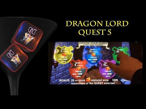 FUN THROWBACK - BIG WIN! DRAGON LORD - Aristocrat Slot Machine Bonus Win!