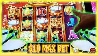 Dancing drums Explosion Slot Machine | 4 DRUM BONUS TRIGGER | $10 MAX BET |