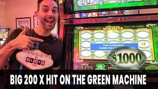 • Big 200 X HIT on The Green Machine • El Cortez Action! #AD