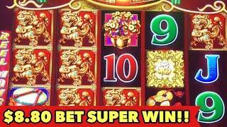 •️DANCING DRUM $8.80 SUPER WIN•️MIGHTY CASH | GOLDEN CHARM | 5 TREASURE BONUS SLOT MACHINE