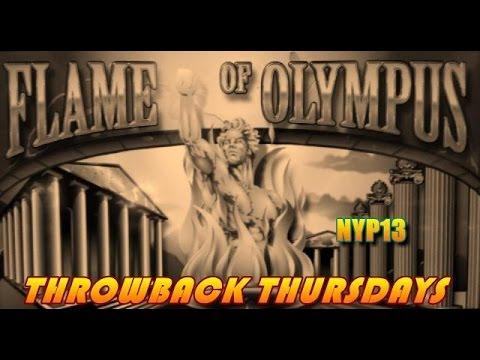 Aristocrat | Flame of Olympus Slot Line Hit & Bonus