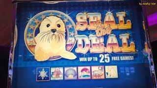 SEAL the DEAL Slot Machine & BLAZING 7s Dollar Slot Machine, San Manuel Casino, スロット, カジノ, ギャンブル