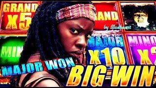 •WINNER!• The WALKING DEAD 2 slot machine JACKPOT BONUS WINS and MORE SLOT VIDEOS!