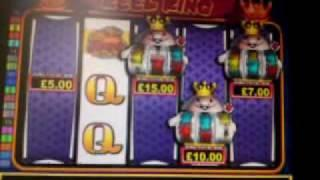 Astra's Reel King 4 Scroll Feature B3 £500 Jackpot Fruit Machine