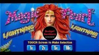 DRAGON LINK ~ LIGHTNING LINK ~ Magic Pearl Big Bonus Win ~ Live Slot Play @ San Manuel