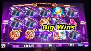 Big Wins - Hold Onto Your Hat, Cats Hats Bats, Gold Bonanza, Ocean Magic Grand