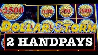 •️DOLLAR STORM CARIBBEAN GOLD •️(2) HANDPAYS NEW STYLE OF LIGHTNING LINK SLOT •️PART 2