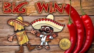 Dazzling Spicy Red Hot Tamales - Mexican themed slots - Slot Machine Bonus