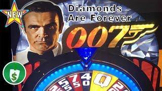 •️ New - James Bond - Diamonds are Forever $1 slot machine, bonus